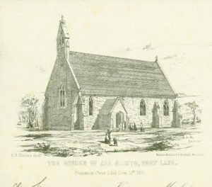 All Saints Church, Glazebury. Circa 1880.All Saints Church, Glazebury. Circa 1880.