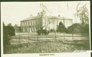 Culcheth Hall. Circa 1925.
